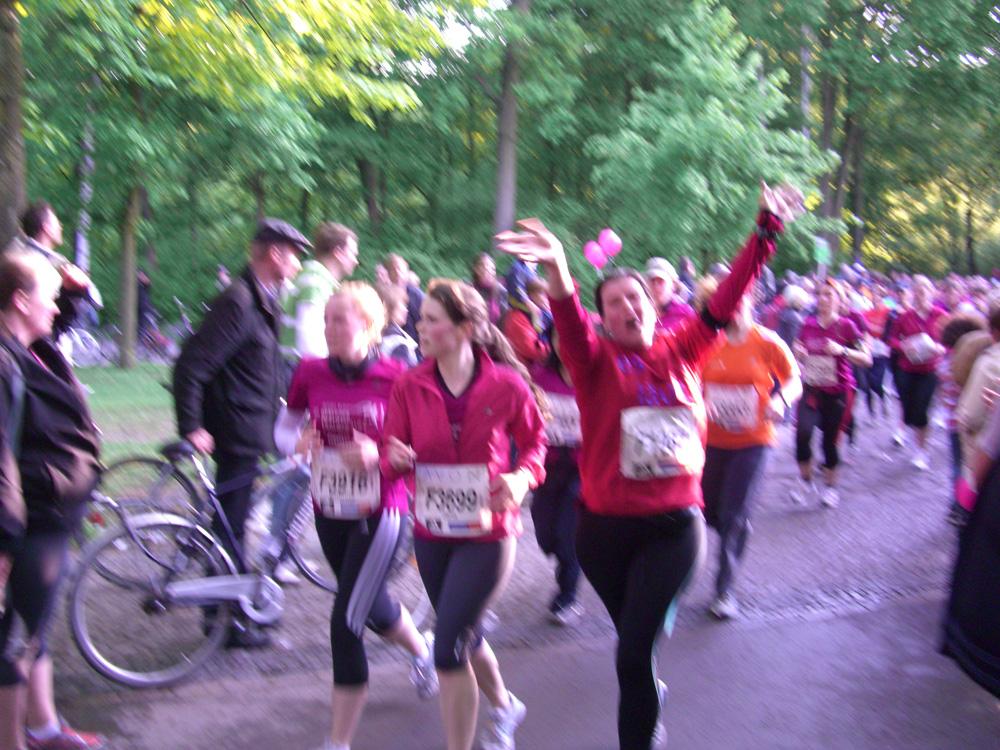 Avon Lauf bei km 6,5 fit wie ein Turnschuh