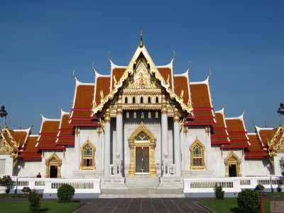 Marbel Tempel - Wat Benjamaborpit