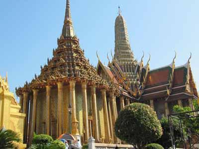 Königspalast mit Smaragdbudda