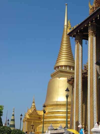 Chedi von Wat Phra Kaeo