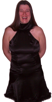 Das Kleidchen von Jean-Paul Gaultier beim Start des Duells Ende April 2009